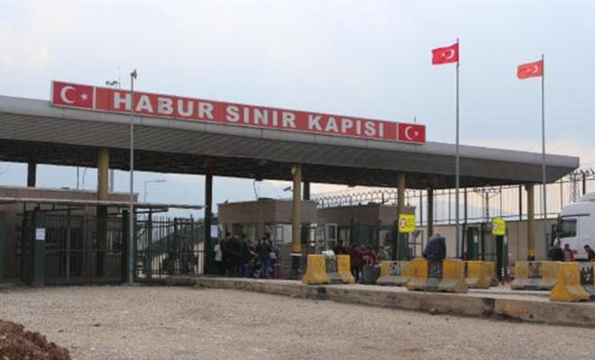 IKBY, koronavirüs nedeniyle Habur sınır kapısını yolculara kapattı