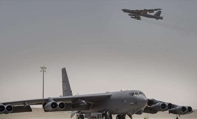 ABD'den İran'a gözdağı:  2 bombardıman uçağı gönderdi