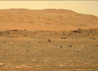 NASA, Mars'a gönderilen Ingenuity'nin ilk uçuşunun başarılı bir şekilde gerçekleştirildiğini açıkladı