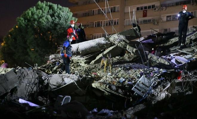 İzmir'deki 6.6'lık depremde yaralı sayısı 607'ye yükseldi