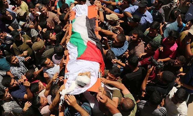 Siyonist işgalcilerin saldırılarında şehid edilen Filistinli sayısı 43'e yükseldi