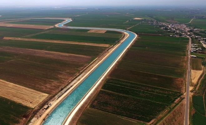 Güneydoğu'da sulanan arazilerden ekonomiye katkı