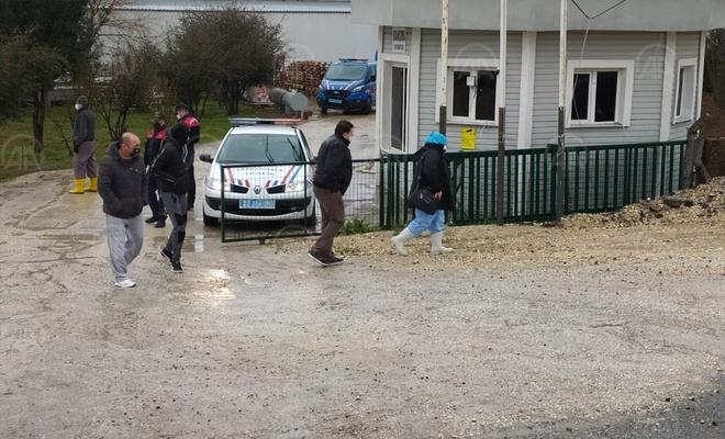 Edirne'de peynir fabrikasındaki amonyak tankından sızan gazdan etkilenen 7 işçi hastaneye kaldırıldı