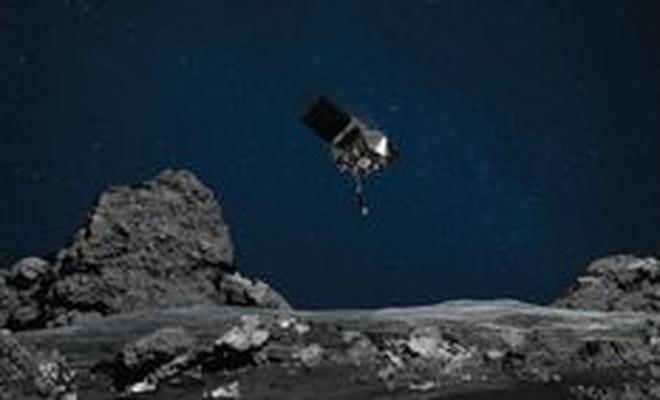 NASA'nın göktaşına gönderdiği araç Dünya'ya dönüş yolculuğuna başladı
