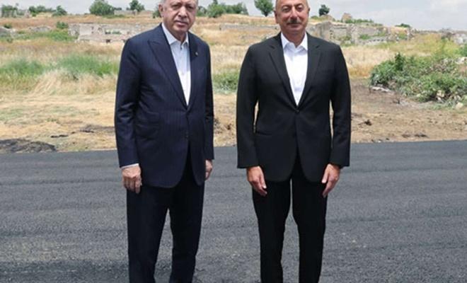 Erdoğan meets with Azerbaijani President Aliyev