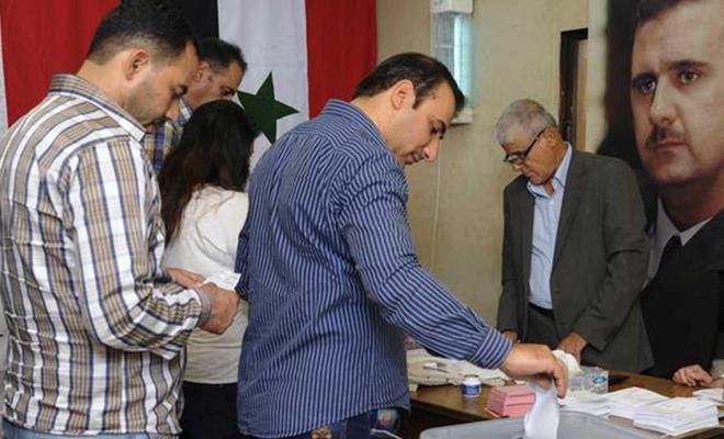 Suriye'de parlamento seçimleri başladı