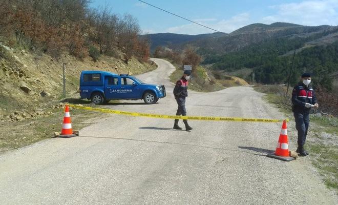 Kütahya'da Çakırlar köyü karantinaya alındı