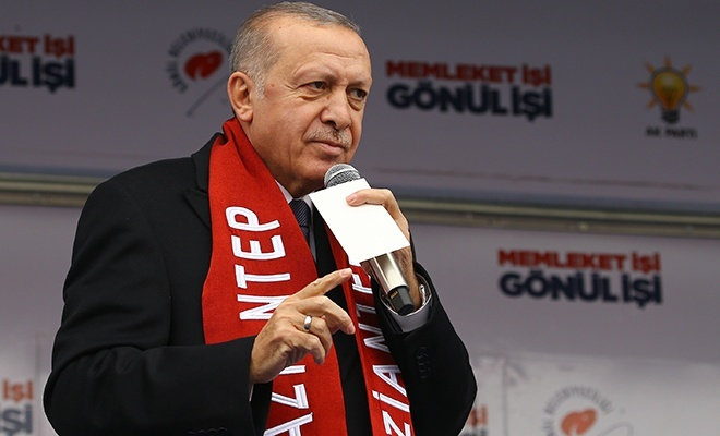 Cumhurbaşkanı Erdoğan: Müslümanlar olarak asla baş eğmeyeceğiz