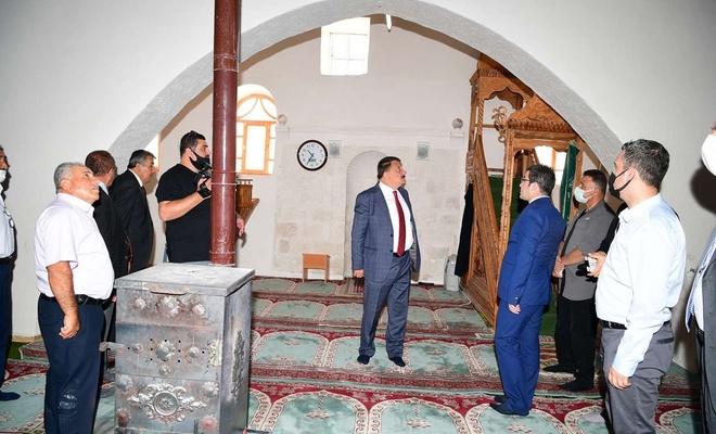 Malatya'daki tarihi Yukarıörükçü Camii'nin tescili için çalışmalara başlandı