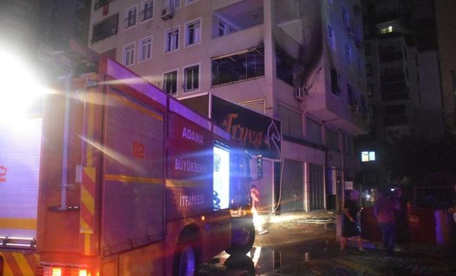 Adana'da bir evde yangın: 1 ölü 3 yaralı