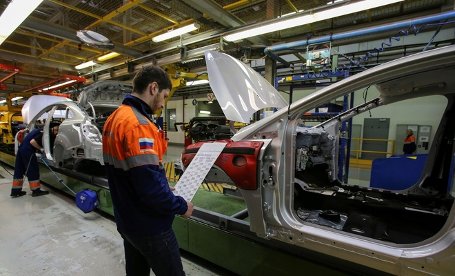 Rusya'da sanayi üretimi artıyor