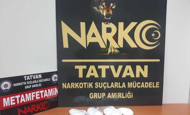 Bitlis'te uyuşturucu madde ele geçirildi