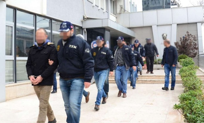 7'si eski polis 9 şüpheli hakkında gözaltı kararı