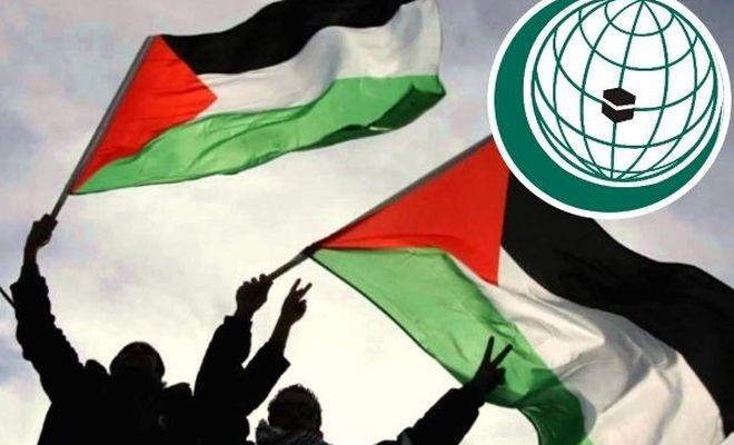 """İİT zirvesinin ilk gündem maddeleri """"Filistin meselesi ve İslam ülkelerindeki krizler"""""""