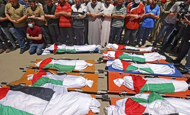 ICHR releases fact sheet about Israel's massacring of families in Gaza