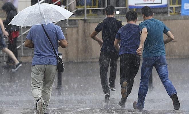 Meteorolojiden kuvvetli rüzgâr ve yağış uyarısı