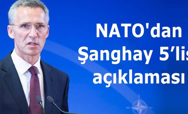 NATO`dan Şanghay 5`lisi açıklaması