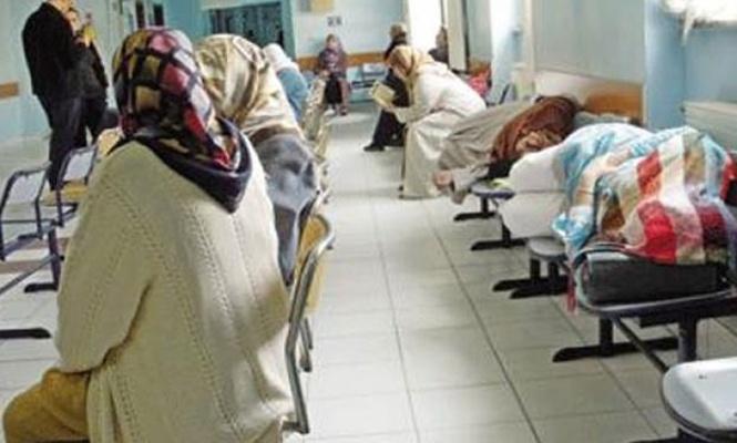 Hastane koridorlarında sabahlamaya son!