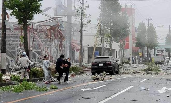 انفجار در رستورانی در ژاپن: یک کشته و 17 زخمی