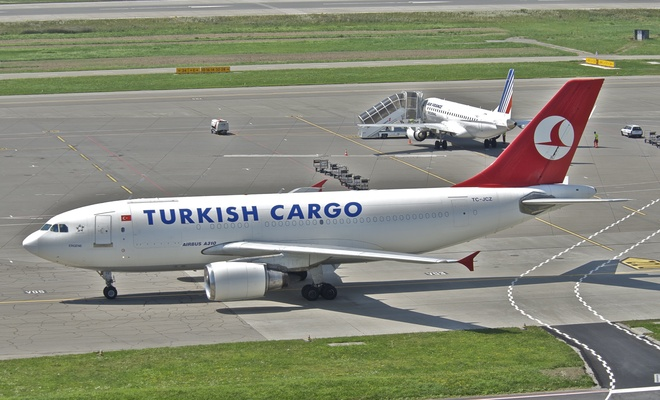 THY'nin yolcu uçakları da kargo taşıyor