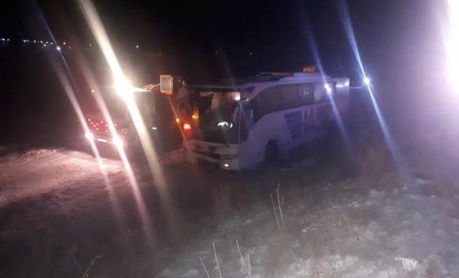Konya'da otobüs, tır ve bir otomobilin karıştığı kazada 5 kişi öldü, 38 kişi yaralandı!