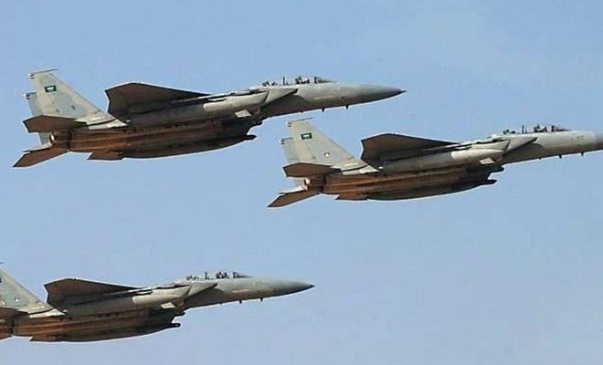 Suudi Yemen'deki Ensarullah'a 15 hava saldırısı düzenledi