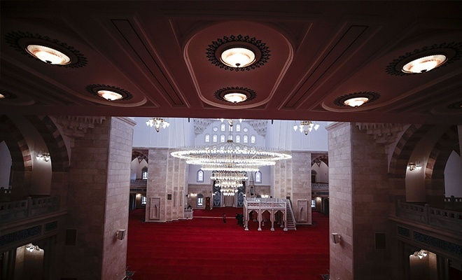 3. Büyük caminin resmi açılışı bugün!