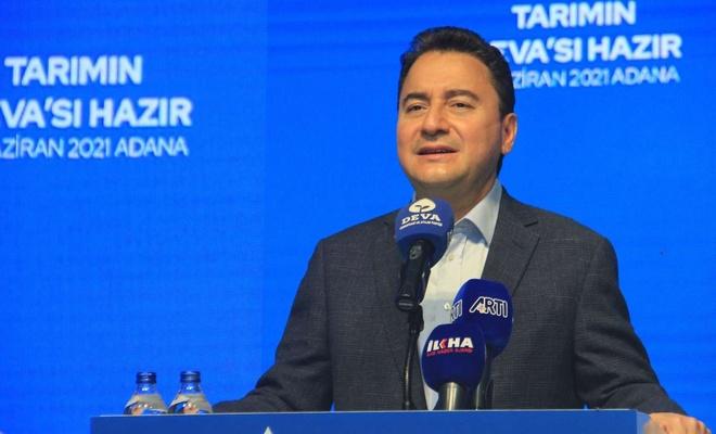 DEVA Partisi Genel Başkanı Babacan Adana'da tarım eylem planını anlattı