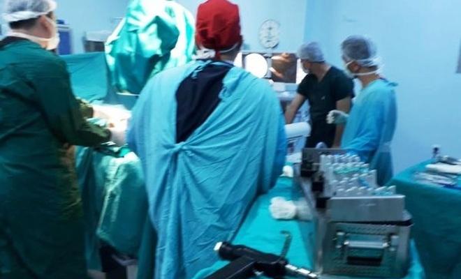 Derik`te ilk kemik ameliyatı yapıldı