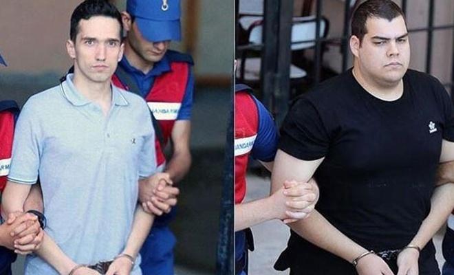 Yunan askerlerinin yargılanmasına devam edildi