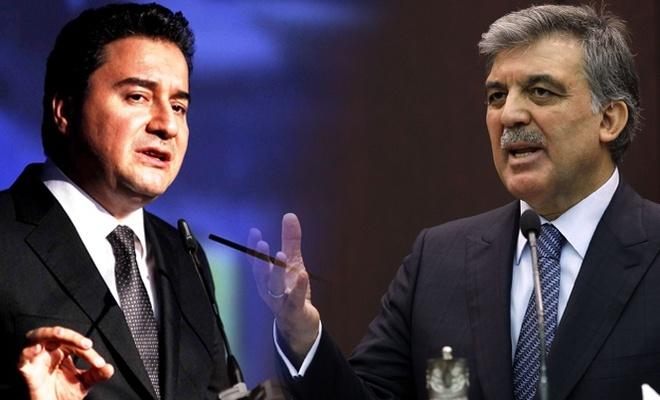 """""""Abdullah Gül ile Ali Babacan yeni parti kuruyor"""""""