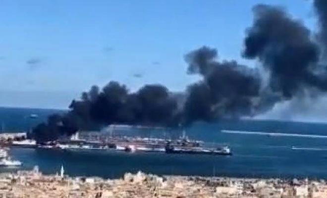 Hafter: Türkiye'ye ait gemiyi vurduk