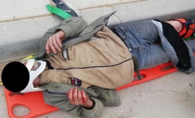 Gaziantep'te hırsızlık şüphelileri polisten kaçarken yaralandı