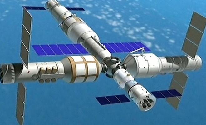 Çin uzay istasyonu yapıyor