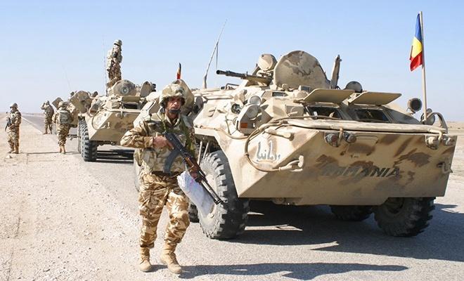 Afganistan'daki Romen güçlere saldırı