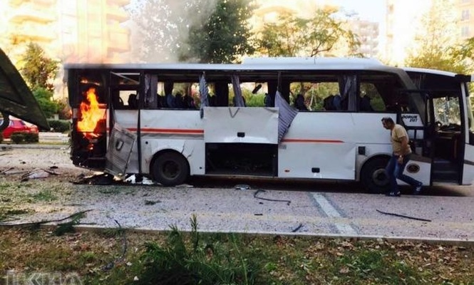 Attack on police vehicle in Mersin: There are wounded