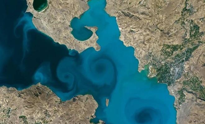 Van Gölü'nün fotoğrafı NASA yarışmasında finalde