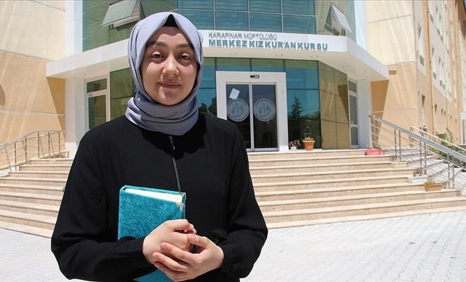 Kur'an okumayı öğrenmeye gitti: 3 ayda hafız oldu