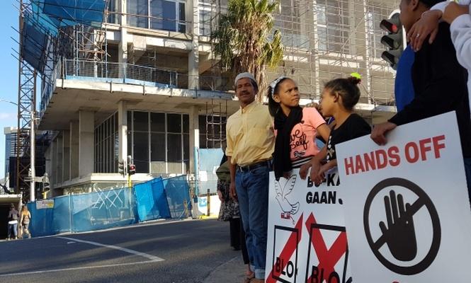 Güney Afrikalı Müslümanlardan kentsel dönüşüm protestosu