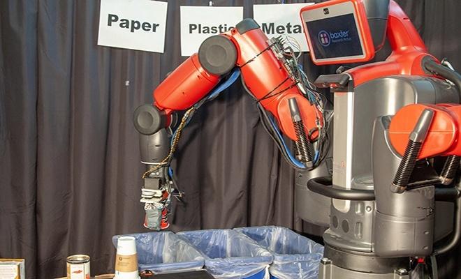 Geri dönüşüm robotu: RoCycle