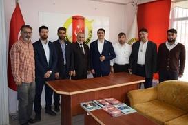 HÜDA PAR Malatya milletvekili adaylarından basın ziyareti