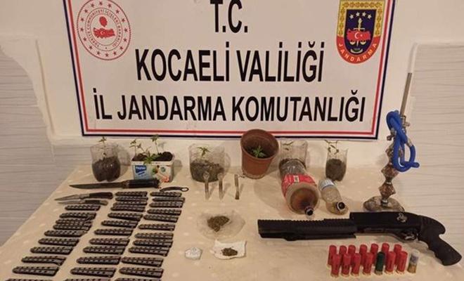 Kocaeli'nin 4 ilçesinde uyuşturucu operasyonu