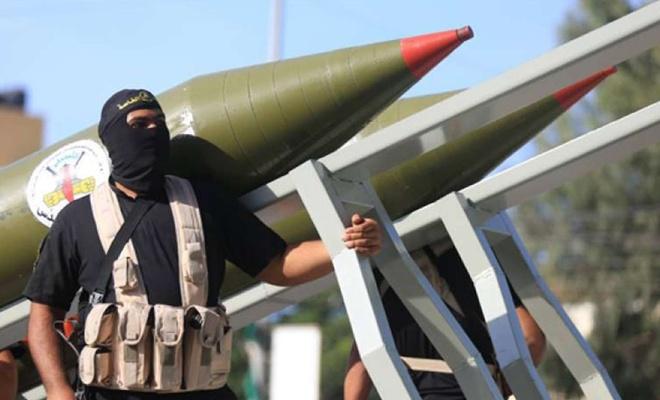 Siyonist basından Debka: HAMAS ve İslami Cihad israil'in büyük bir kısmına roket fırlattı