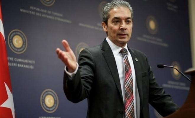 Türkiye'den Mısır'a tepki