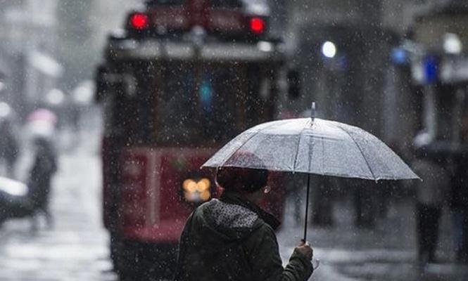 Marmara`da yağmur ve sağanak