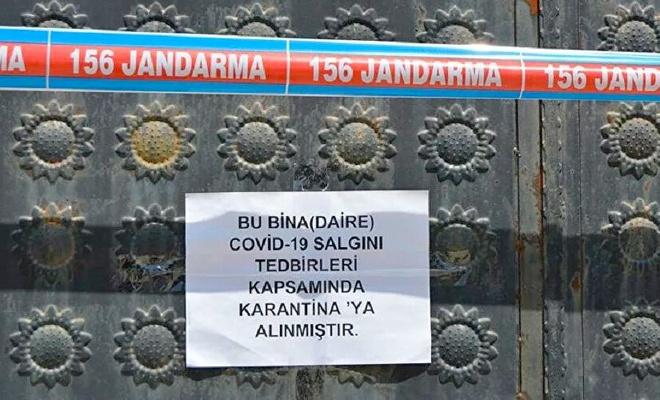 Şanlıurfa'da 62 ev daha karantinaya alındı