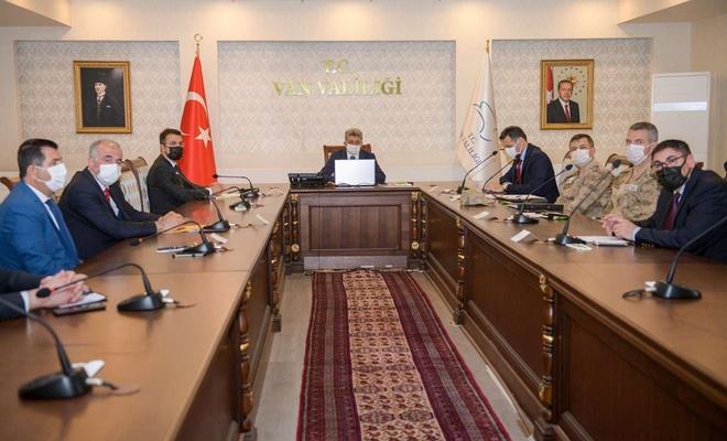 Van'da sosyal destek ödemeleriyle ilgili koordinasyon toplantısı yapıldı