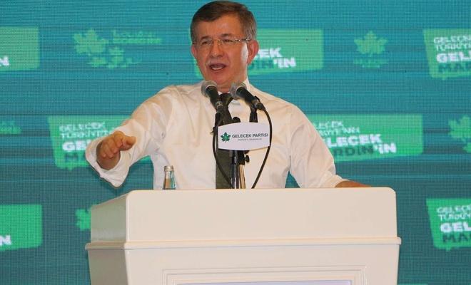 Gelecek Partisi Genel Başkanı Davutoğlu Mardin'de konuştu