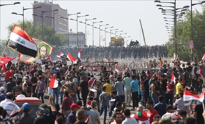 Irak'ta sivil itaatsizlik eylemleri başlatıldı
