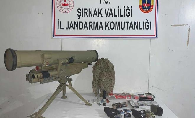 Eylem hazırlığındaki PKK'liden Konkurs füzesi çıktı